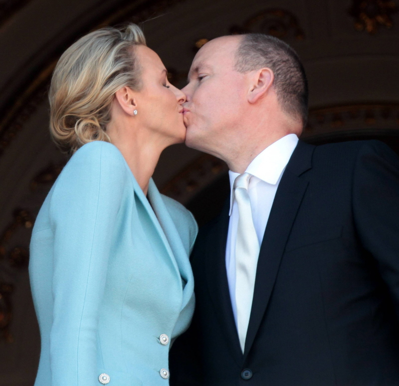 Prince albert is trying to persuade charlene to stay in the