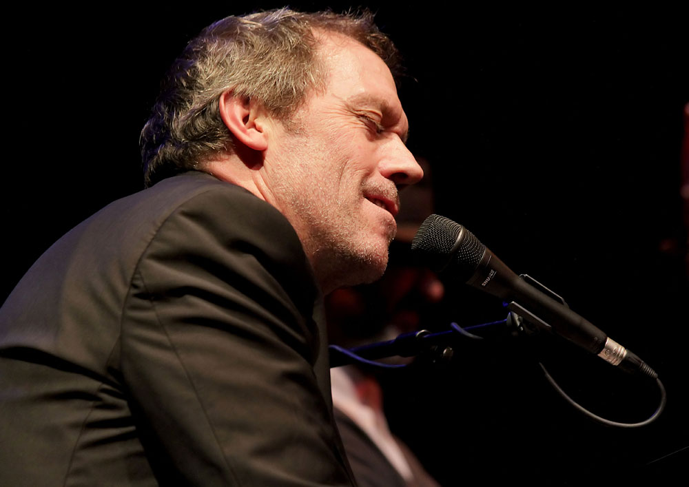Hugh Laurie is shown on 5/3/11 and 5/7/11. Credit: WENN.com