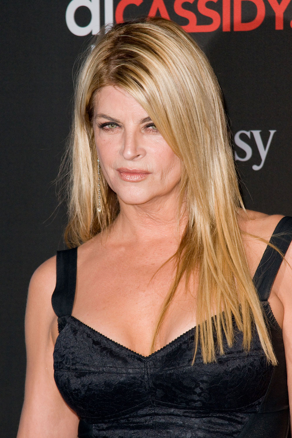 kirstie alley height and weight