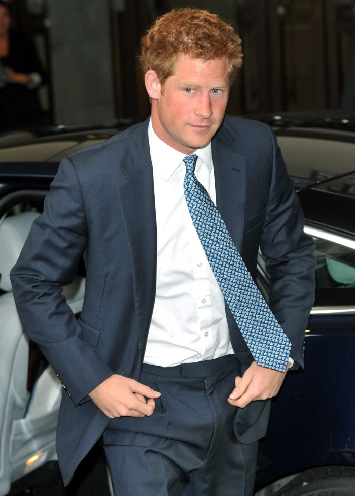Prince Harry gets back to business after his liquor-soaked Croatia
