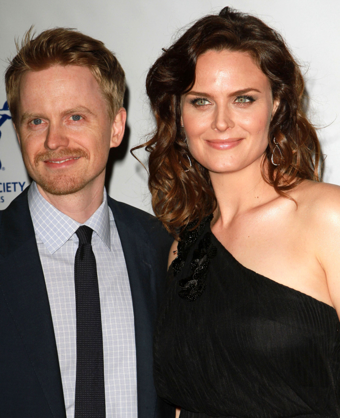 celebitchy emily deschanel gave birth to a healthy
