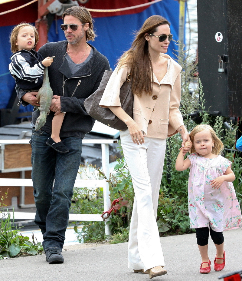 Angelina jolie brad pitt kingston rossdale shiloh jolie pitt