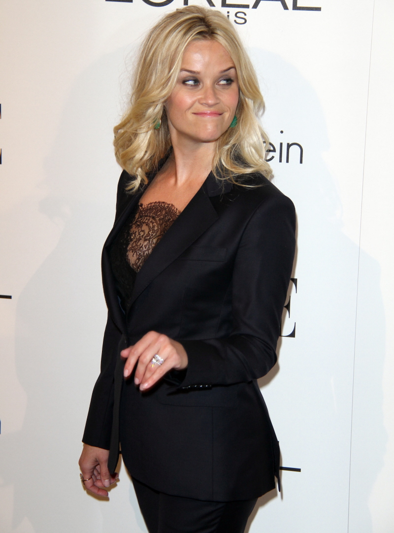 Reese Witherspoon's wonky suit at the Elle event: lovely or budget?