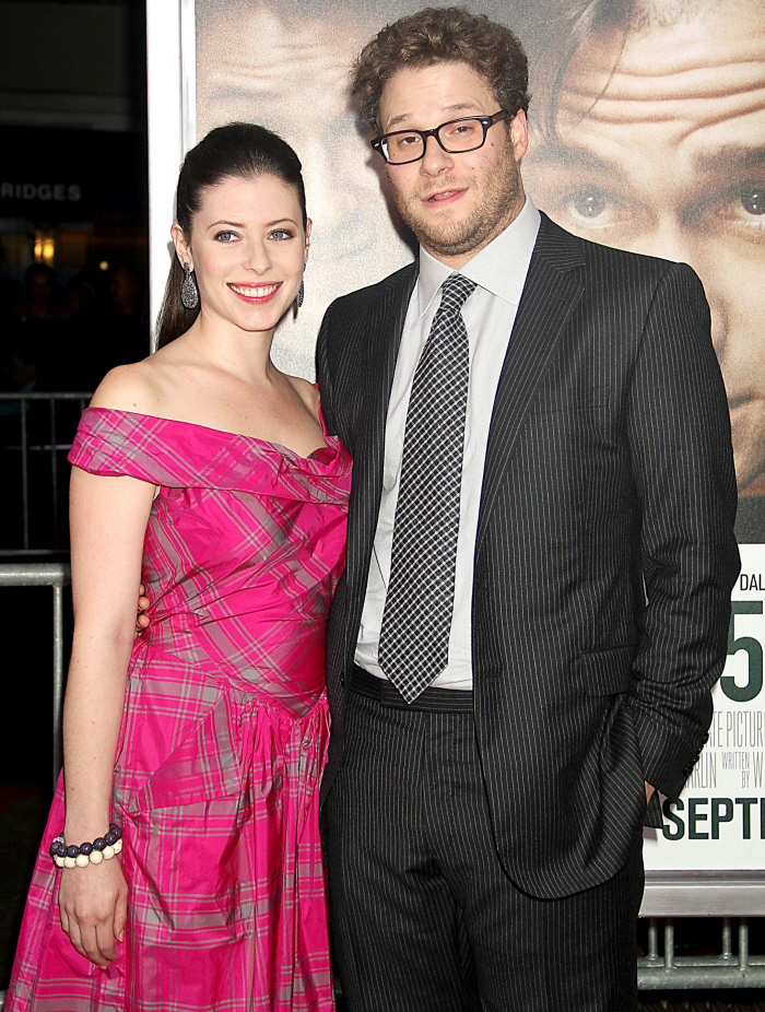 Cele bitchy   Seth Rogen marries his girlfriend of 7 years ...