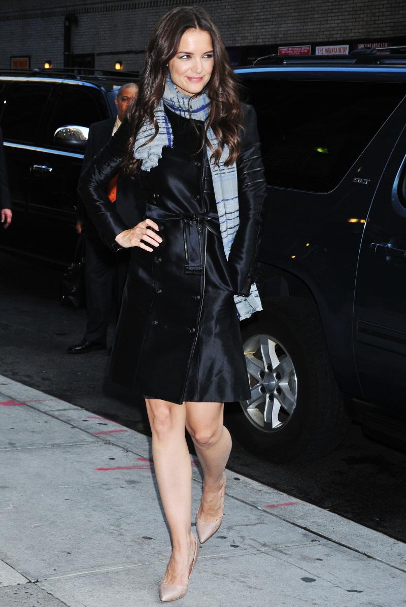 Katie Holmes has the worst legs. — thenest
