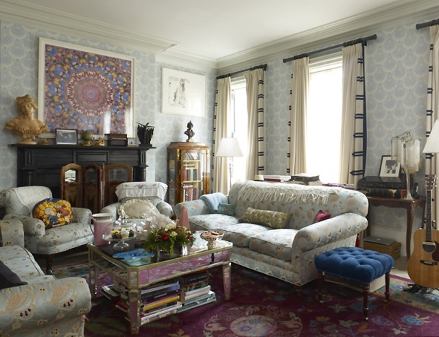 Cele Bitchy Courtney Love S Interior Design Pretty Or Like An Anthropologie Threw Up