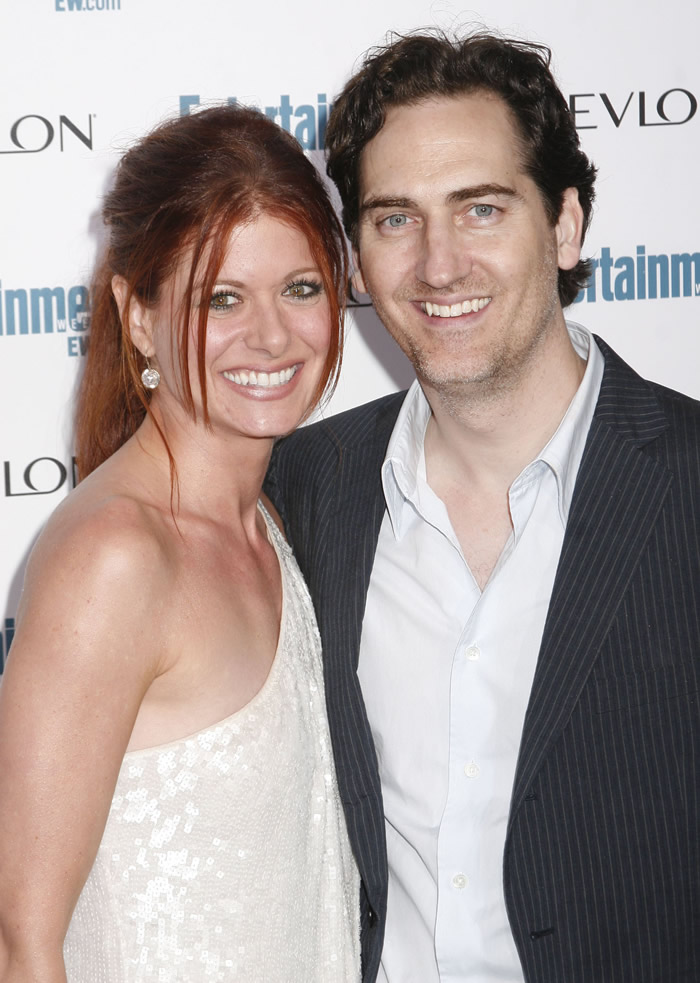 Cele Bitchy Debra Messing Files For Divorce From Husband