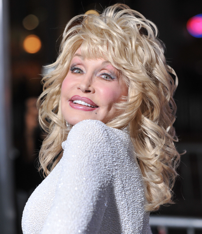 Okay, Dolly Parton is fabulous, but her face is kind of ridiculous at this ...