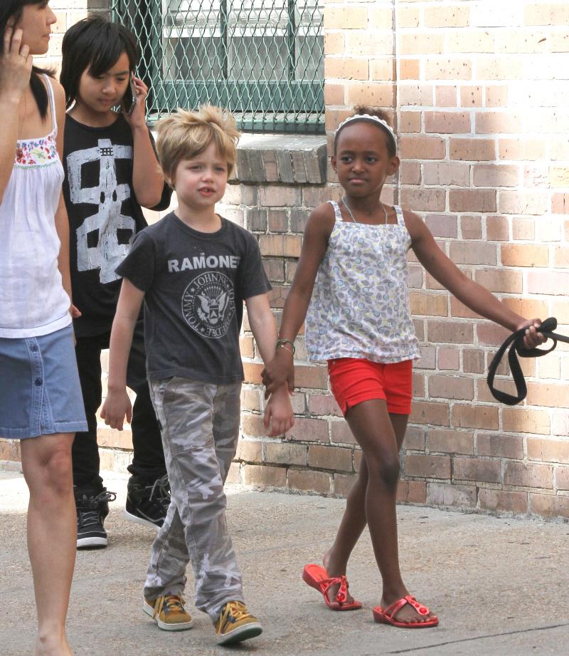 Maddox  le fils de Brad Pitt et Angelina Jolie saffiche