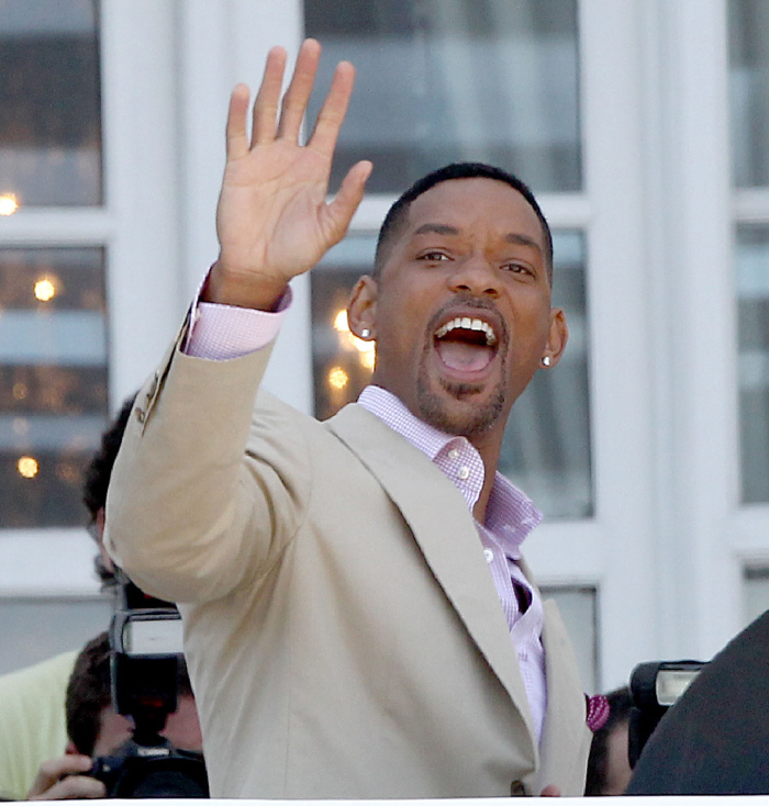 "My second reaction: ""Who did Will Smith piss off to the point where the ..."