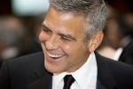 George Clooney attends the 2012 White House Correspondents Association Dinner in Washington, D.C.