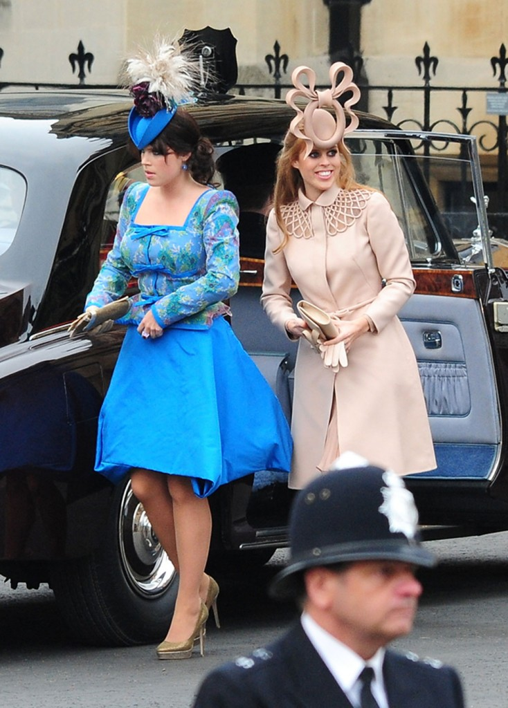 Princesses Beatrice and Eugenie Royal Wedding