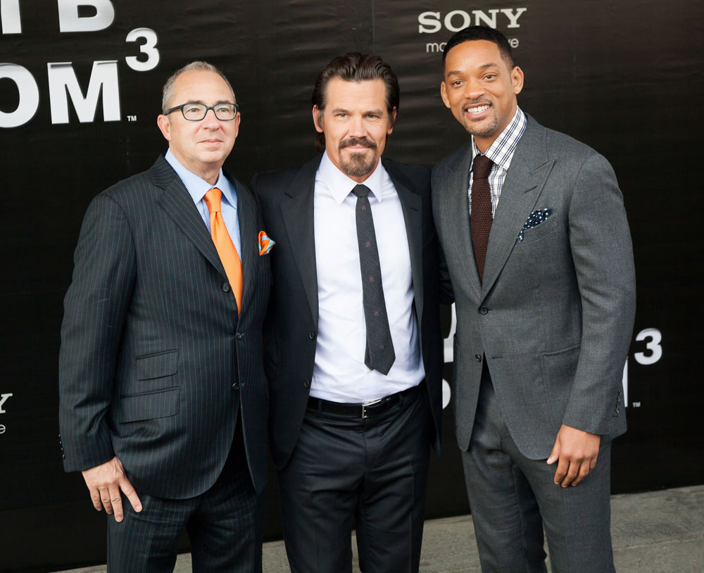 Barry Sonnenfeld, Josh Brolin and Will Smith