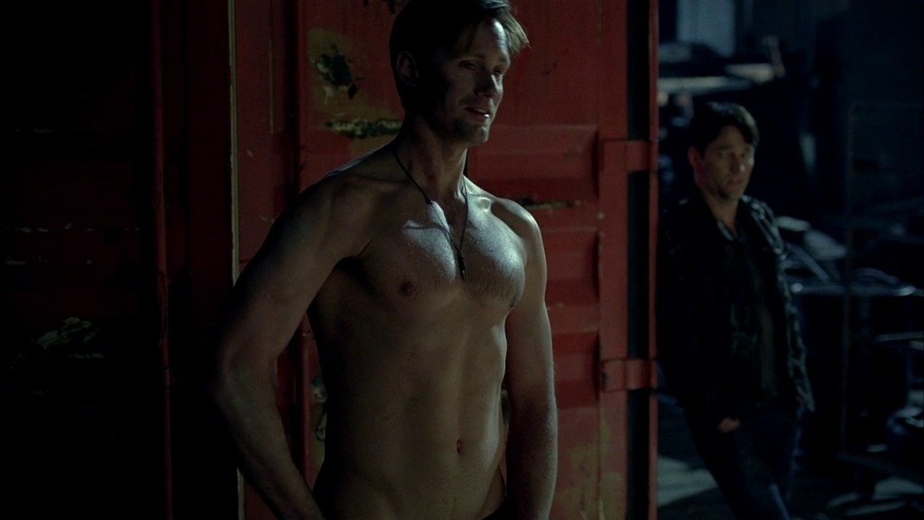 True Blood Alex Skarsgard shirtless