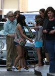 Woody Allen, Soon-Yi And Daughters At The Beverly Wilshire Hotel