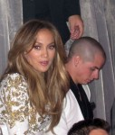 Jennifer Lopez & Casper Smart Party At Hyde Bellagio