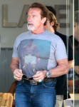 Exclusive: Arnold Schwarzenegger Rocking A Grey Goatee