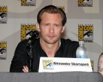 Alexander Skarsgaard from the hit show 'True Blood' seen attending a discussion panel at Comic-Con 2012 in San Diego