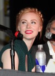 Deborah Ann Woll from the hit show 'True Blood' seen attending a discussion panel at Comic-Con 2012 in San Diego