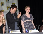 Anna Paquin and Stephen Moyer from the hit show 'True Blood' seen attending a discussion panel at Comic-Con 2012 in San Diego