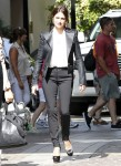 Hot Actress Penelope Cruz Leaves The Beverly Wilshire Hotel