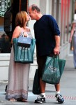 Exclusive: Kelsey Grammer And Very Pregnant Wife Kayte Walsh Share A Kiss