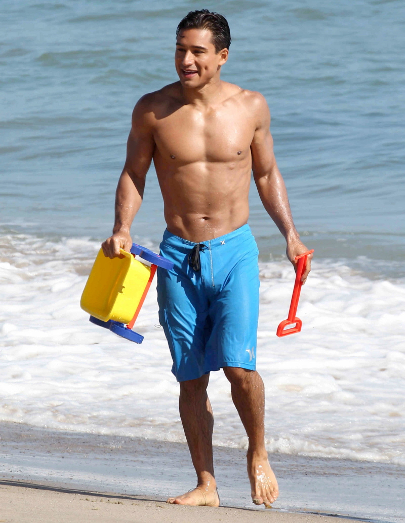 Mario Lopez Totally Nude On A Beach Naked Male Celebrities