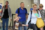 Semi-Exclusive: Britney Spears And Family Arriving In Maui