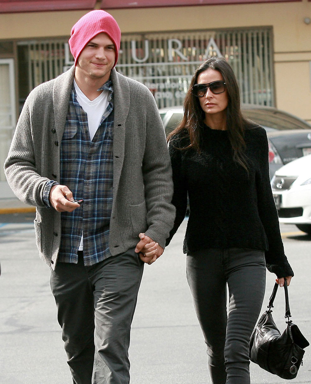 Demi Moore Is Divorcing Ashton Kutcher **file Photos**