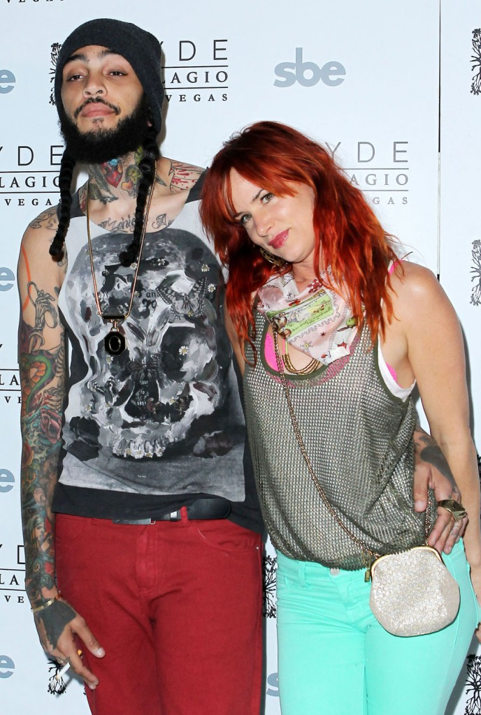 Juliette Lewis and travie mccoy