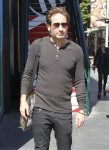 David Duchovny Hangs At The Grove
