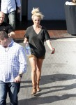 Exclusive... Britney Spears Leaves Photo Shoot in Long Beach