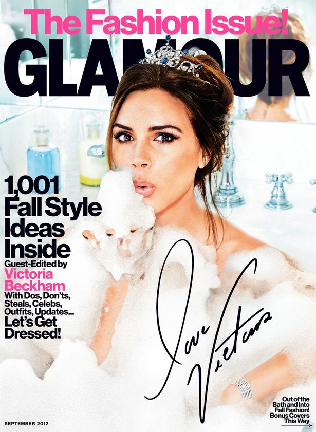 glossy women's fashion magazine. The magazine covers all the latest trends in the world of