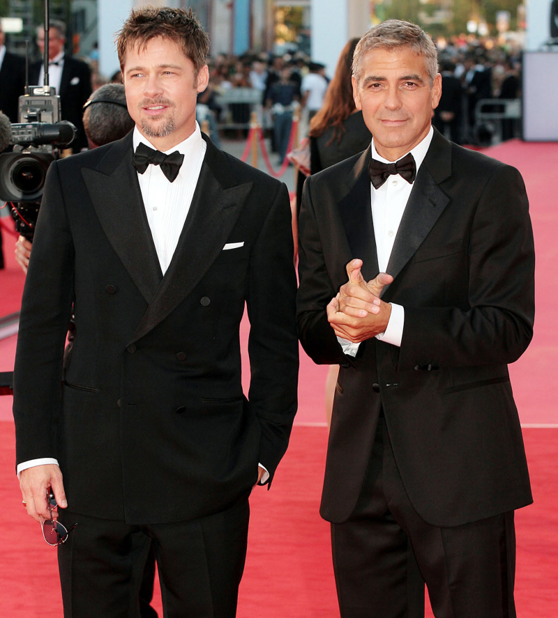 George clooney brad pitt fall out