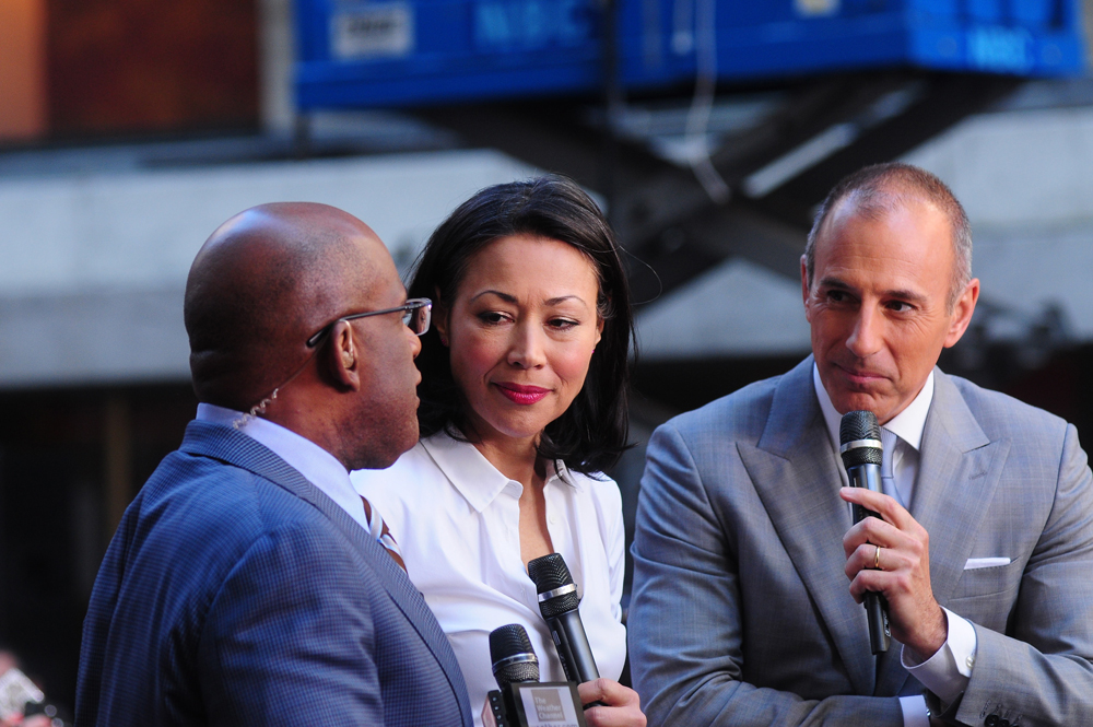Al Roker Ann Curry Matt Lauer