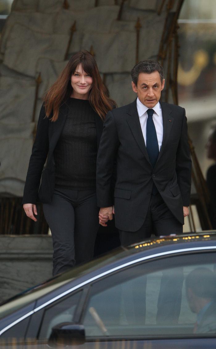 Carla Bruni Nicholas Sarkozy