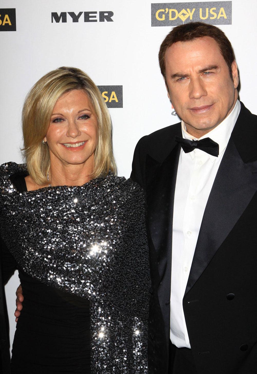 Cele|bitchy | John Travolta and Olivia Newton John put out ...