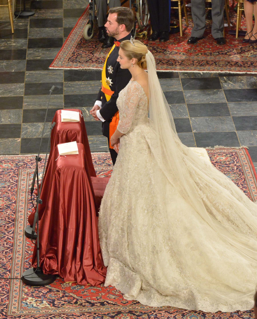 The Wedding Gown: Prince Guillaume Of Luxembourg Marries Elie