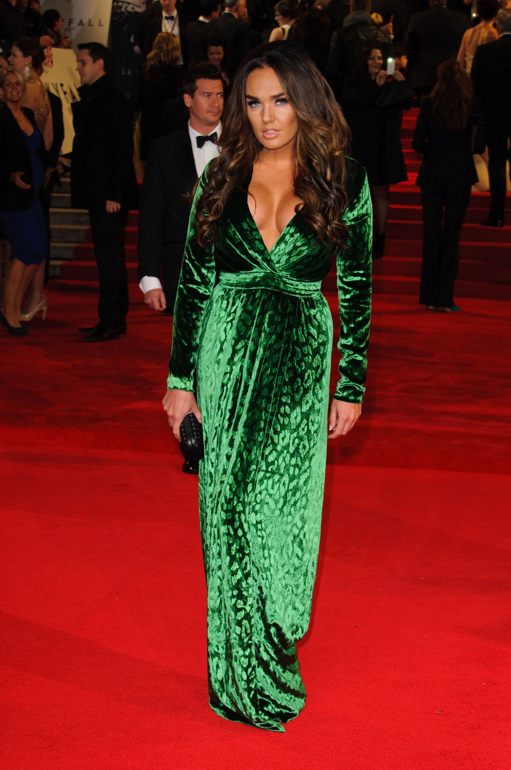 celebitchy tamara ecclestone pops out of green gucci
