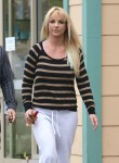 Exclusive... Britney Spears Leaving A Hair Salon In Beverly Hills