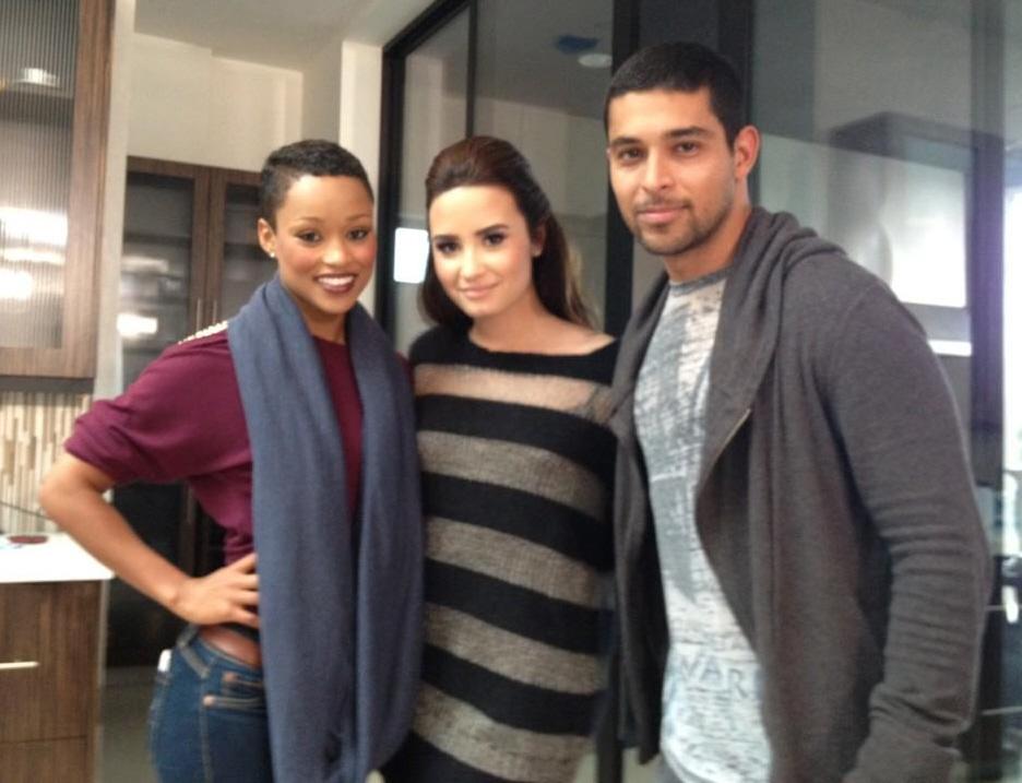 By Kaiser Demi Lovato , Wilmer Valderrama Demi Lovato Wilmer Valderrama