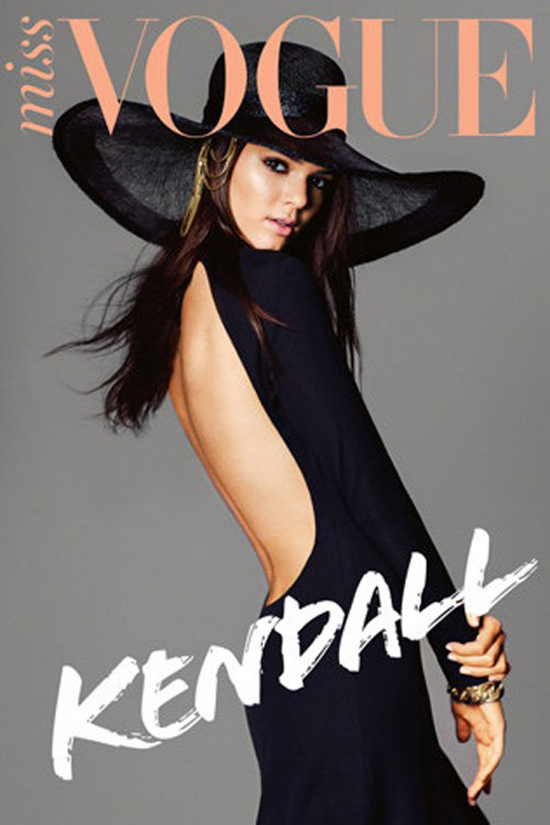 Kendall Jenner, 17, covers Miss Vogue: surprisingly tasteful and not ...