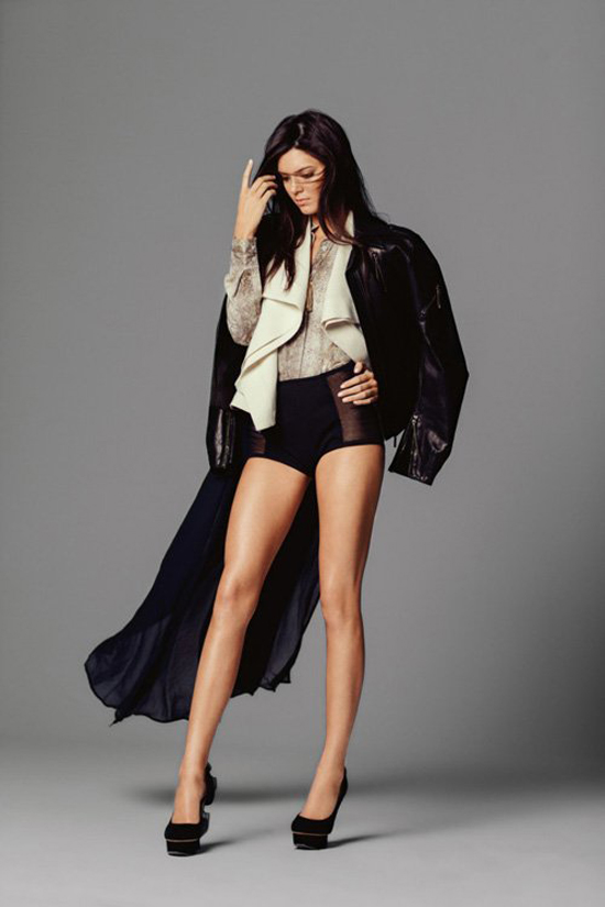 Cele bitchy   Kendall Jenner, 17, covers Miss Vogue ...