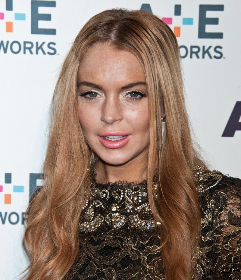 Cele|bitchy | Lindsay Lohan 'knows she's hit rock bottom' but it's ...