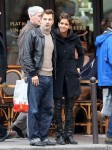 Halle Berry & Olivier Visit Churches In Paris