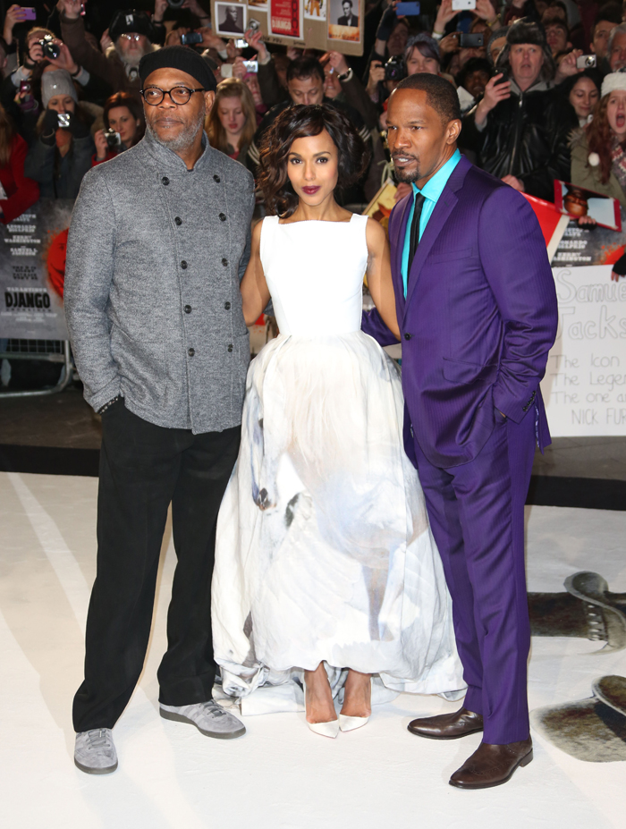 Kerry Washington Samuel L Jackson Jamie Foxx