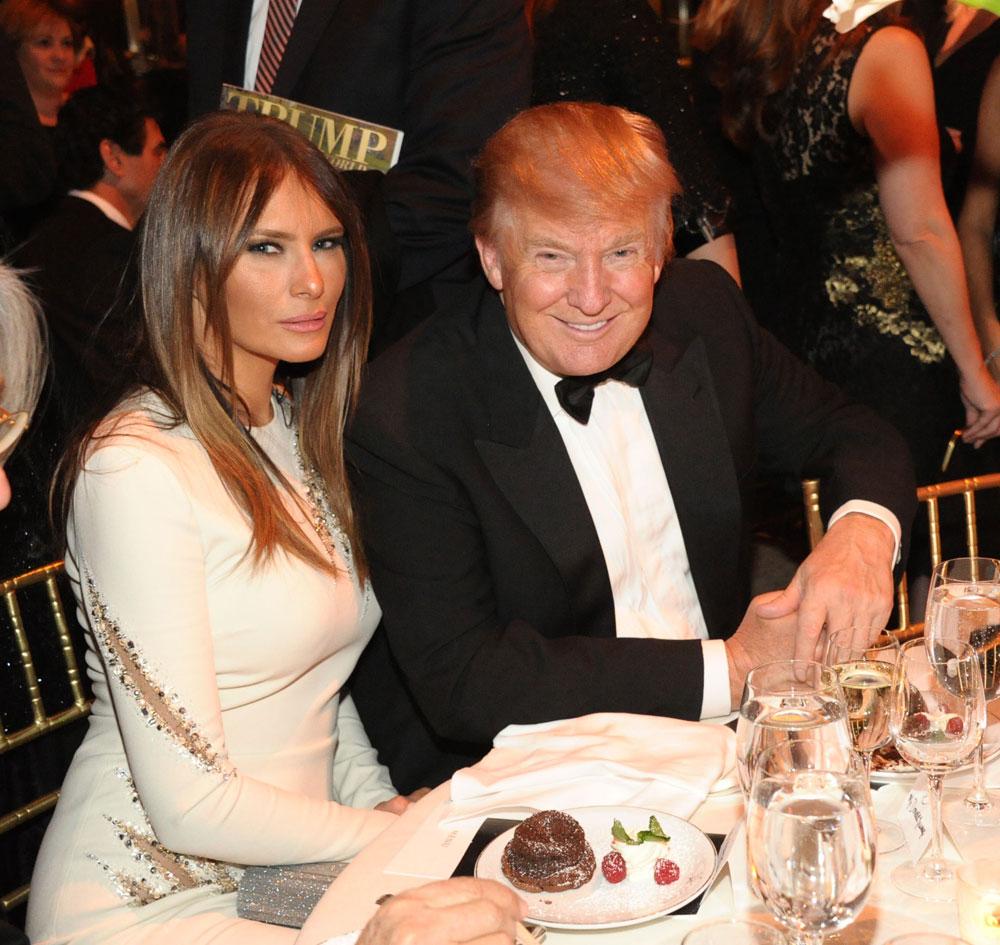 Melania Trump Wedding Ring - Viewing Gallery