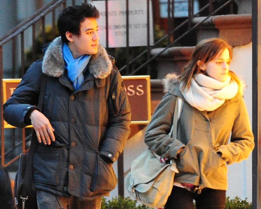 Will Adamowicz Ethnicity Asian Celebitchy emma watson & boyfriend will ... Will Adamowicz Ethnicity