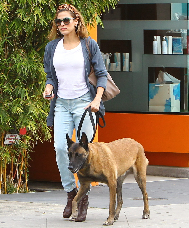 Cele Bitchy Eva Mendes Admits Using A Shock Collar On
