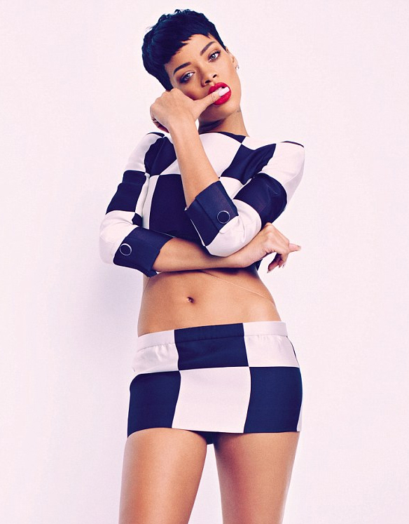 Rihanna Elle UK April 2013 - 158.9KB